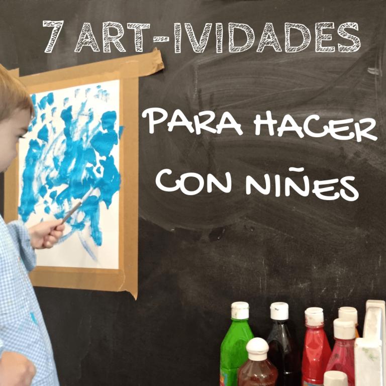 actividades de arte con niños